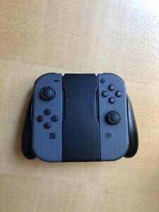 Joycon Nintendo Switch Neri Con Grip Ricaricabile