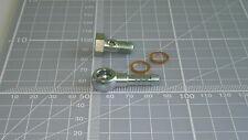8MM BANJO FOR 6MM HOSE M8x1 BOLT FUEL OIL PLATED STEEL