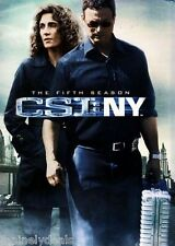 CSI: New York - The Complete Fifth Season DVD, 2009, 7-Disc Set