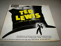 """Ted Lewis & His Orchestra Self-Titled LP 10"""" Decca DL5114 1949"""