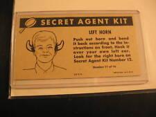 1966 Topps Get Smart Secret Agent Proof #11