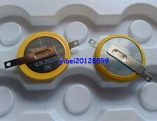 2 x Tabbed 3V CR2025 Save Battery For Game Boy Pokemon Red Blue Golden Silver