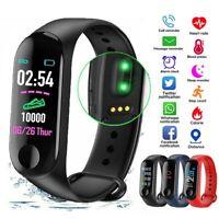 Smart Band Watch Bracelet Wristband Blood Pressure Heart Rate Fitness Tracker