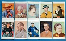 Beautiful Set of 10 NEW Vincent Van Gogh Portrait Art Paintings Postcards 66O