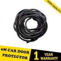 6M Perfect Car Styling Strips Trim Exterior Door Sticker Moulding Line Black UK