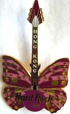 Hard Rock Cafe Hong Kong Butterfly '00 Pin