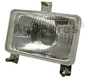 Massey Ferguson Tractor Head Light assembly with bulb 12V MF4200 Series L/R