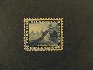 Nicaragua #1 unused no gum a21.7 2829