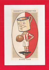 STOKE CITY FC New Postcard The Potters  The Victoria Ground now BET 365 Stadium