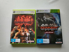Tekken 6 PLUS Tag Tournament 2 XBOX 360 🇦🇺 Seller! *VGC* 2 GAMES!! COMPLETE