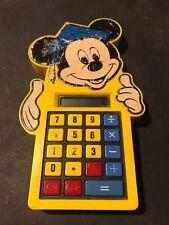 Radio Shack Mickey Mouse Disney Calculator Works