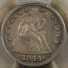 1844 Seated Liberty Dime PCGS XF40 Little Orphan Annie There are a couple of old
