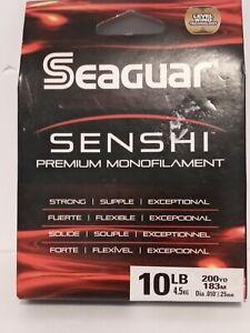 SEAGUAR SENSHI PREMIUM MONOFILAMENT LINE 10 LB 200YD CLEAR