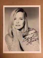 Cheryl Ladd Boldly Signed 8x10 Sharp Photo with COA