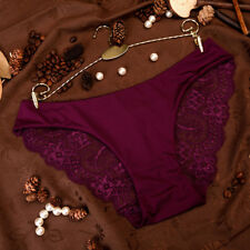 Seamless Sexy Lace Panties Cotton Hollow Briefs Plus Size Women Underwears UP