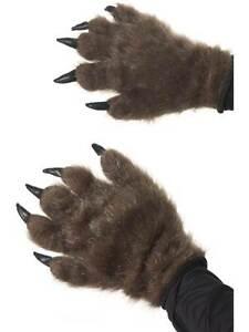 HAIRY MONSTER HANDS, HALLOWEEN FANCY DRESS ACCESSORIES, WEREWOLF/GORILLA/BEAR