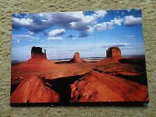 .POSTCARD.MONUMENT VALLEY NORTH OF KAYENTA AZ..POSTED 1991 40c STAMP.