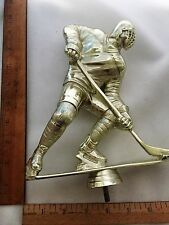 Male Hockey Player Gold Trophy Topper