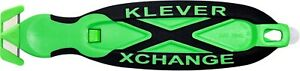 KLEVER X-CHANGE KLEEN SAFETY CUTTER - ANTIMICROBIAL