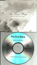 THE CIVIL WARS The One that got Away PROMO DJ CD single w/ PRINTED LYRICS 2013