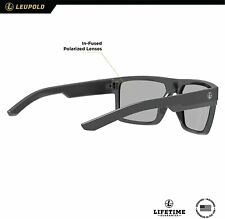 Leupold Becnara Performance Eyewear- matte black/gloss black- sunglasses- NEW