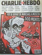 CHARLIE HEBDO No 67 OCTOBRE 1993 CABU POT DE DEPART DE MARCHAIS A MOSCOU