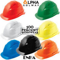 Construction Builders Tradesman Industrial Vented Work Safety Helmet Hard Hat