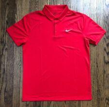 Nike Golf Standart Fit Mens Short Sleeve Dri Fit Golf Polo Shirt Size Large