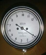 Veglia Borletti Tachometer WHITE FACE DUCATI 12000 rpm 4:1 Replica 80 mm fitment
