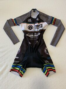JL Velo Women's Cycling Long Sleeve Skin Suit - Small