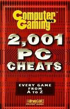 CGW 2,001 PC CHEATS (Computer Gaming World)-ExLibrary