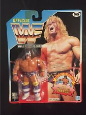 RARE ERROR Ultimate Warrior #3 Hasbro MOC WWF WWE Wrestling Figure!