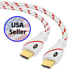 Ultra Clarity Cables HDMI 2.0 4K 60Hz Cord - Computer / XBOX One/360 to TV - Lot