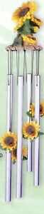 Sunflower Medium Wind Chime. New