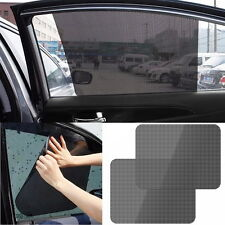 2Pcs Auto Side Window Screen Block Static Cling Sun Shades Car Professional Tool