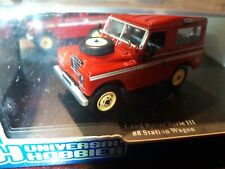 Land Rover Universal Hobbies  Defender Serie III  in Rot  1:43 in Box (214)