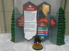 Heroscape Custom Batwoman Double Sided Card & Figure w/ Sleeve DC