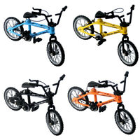 Retro Mini Finger BMX Bicycle Assembly Bike Model Toys Gadgets Kids Gifts