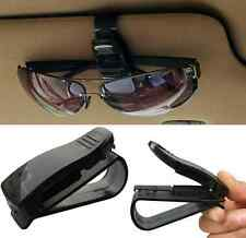 Car Auto Sun Visor Glasses Sunglasses Card Ticket Holder Clip Universal Black HS