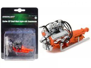 Greenlight 12977 Ford Custom 1932 hot rod engine 327 Motor 1:18 Motormodell