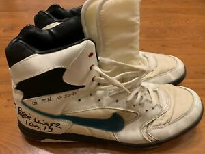 Reggie White Game Used Worn Turf Cleats Shoes 10-22-95 Green Bay Packers JSA