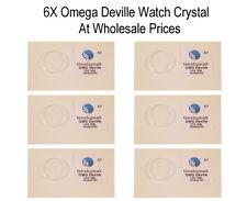 Reloj De Plástico Plexi 6X-Vidrio Cristal para OMEGA DEVILLE 31.6m WC7 precio al por mayor