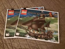 Lego CUSTOM replacement instructions 4184 Pirates of the Caribbean  Black Pearl