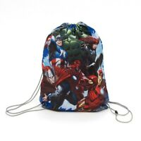 Official Marvel Avengers Boys Girls Drawstring Gym Toy Beach Party Swim Shoe Bag