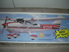 Huge Top Flite CESSNA 182 Gold Edition model airplane kit non ARF with Spinner