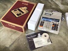 New Vintage Texas Instruments Ti-5142 Electronic Calculator, Printing Machine