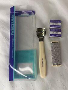 Tweezerman VTG Dead Skin Corn Callus Remover Cutter Shaver Pedicure Foot Tool