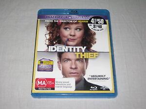 Identity Thief - Blu Ray - Region B - VGC