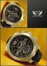 antarius XXXL 52mm Cronógrafo de PILOTO cavadini Reloj fácilmente LEGIBLE 10BAR