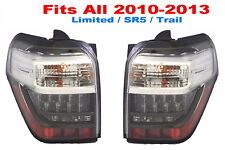 TOYOTA 4RUNNER 2010-2013 TAILLIGHTS TAIL LIGHTS REAR NEW PAIR - Fit 2010-2013